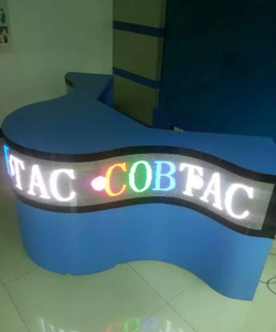 COB multi-arc shaped display